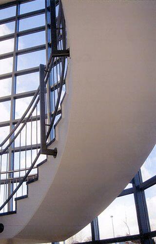 Produktpalette - Geschwungene FT-Treppe